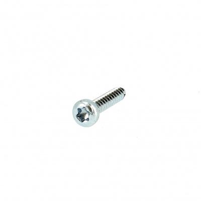 Torx Pan Button Head Sheet Metal Screw, White Zinc Steel215