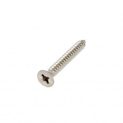 Countersunk Pozidriv Head Sheet Metal Screw, A4 Stainless Steel, DIN 7982