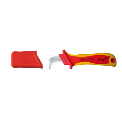 Stripping knife for round cables