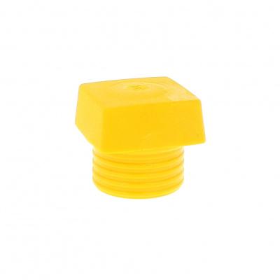 Safety Soft hammer , yellow medium hard square face