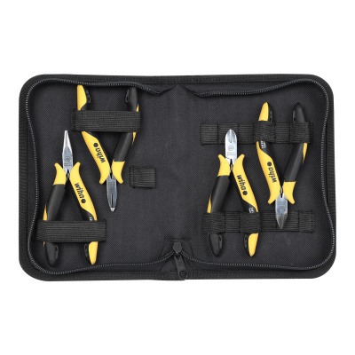 Professional ESD pliers set, 4 pieces