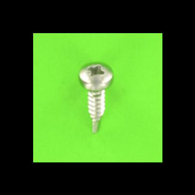 Self-drilling, Round Head, Phillips, A4 Stainless Steel, DIN 7504M