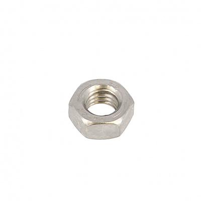 Hex Nut, A2 Stainless Steel, Left Hand Thread, DIN 934L