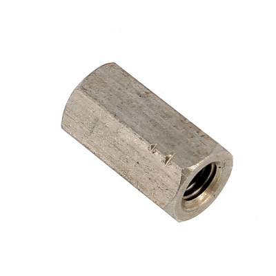 Coupling Nut, 3D, A4 Stainless Steel DIN 6334