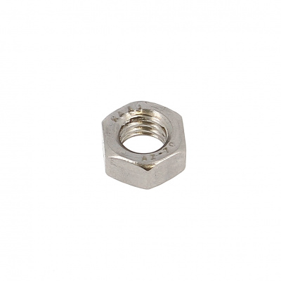 Hex Nut, Hu, A2 Stainless Steel, DIN 934