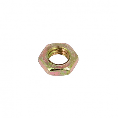 Thin Hex Nut, Hm, Yellow Zinc Steel, DIN 439