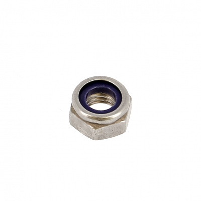Nylstop Nut, A2 Stainless Steel, DIN 985
