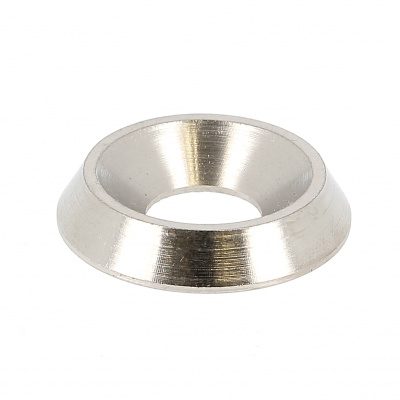 Solid Countersunk Washer, A1 Stainless Steel, NFE 27619