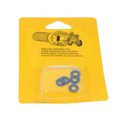 Blister pack of 5 Washers, M Series AG3 OA, Blue