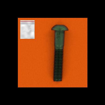Bags of 25 Hex Socket Button Head Screws, 10.9 Steel, Black