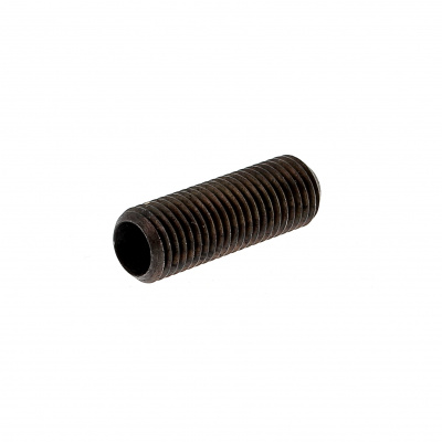 Flat Point, Black 14.9 Steel, DIN 913, 125 Thread