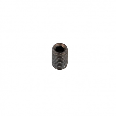 Flat Point, Black 14.9 Steel, DIN 913, 75 Thread