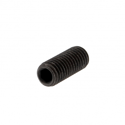 Hex Socket Headless, Cup Point, Black 14.9 Steel, DIN 916