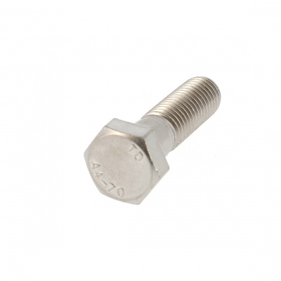 Hex Head, A4 Stainless Steel, Partially Threaded, DIN 931