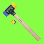 Safety Soft-face hammer soft and medium-hard square faces